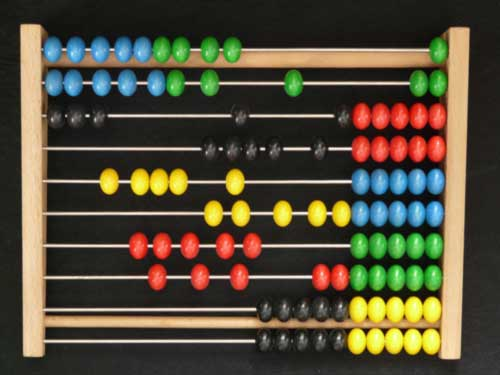 pre numeracy skills abacus